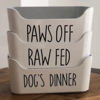 Pet Food Storage Tray